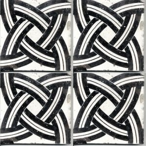 Maiolica antica Cottoartigiano bianca e nera (3)